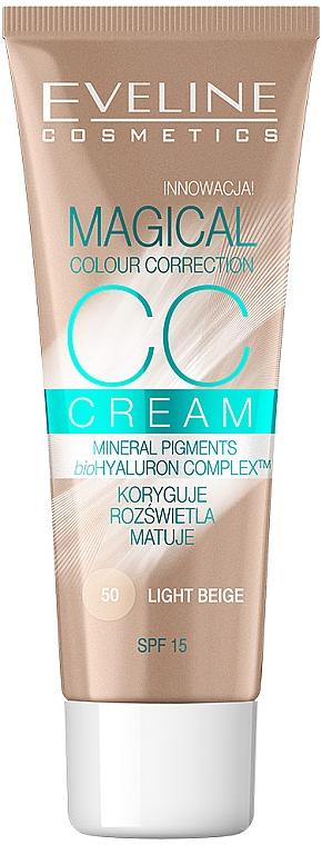 CC Creme mit Bio Hyaluron Komplex SPF 15 - Eveline Cosmetics Magical CC Cream SPF15