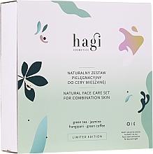 Gesichtspflegeset - Hagi Natural Face Care Set (Natürliche Gesichtscreme 30ml + Natürliches Gesichtsserum 30ml) — Bild N1