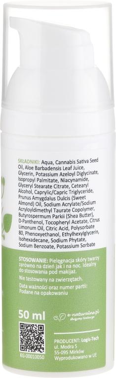 Gesichtscreme gegen Akne mit Hanföl und Vitamin PP - Lynia Anti-acne Cream — Bild N2