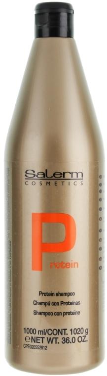 Pflegendes Protein-Shampoo mit Keratin - Salerm Linea Oro Shampoo Protein — Bild N3