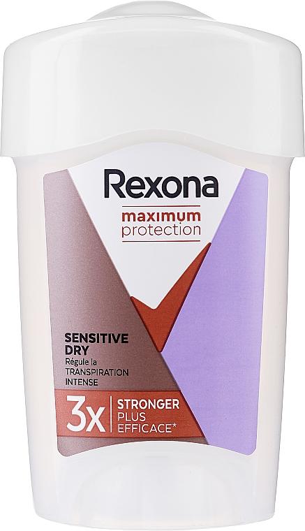 Deostick Antitranspirant - Rexona Maximum Protection Sensitive Dry — Bild N1