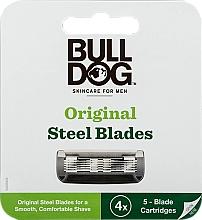 Düfte, Parfümerie und Kosmetik Ersatzklingen 4 St. - Bulldog Skincare Original 4