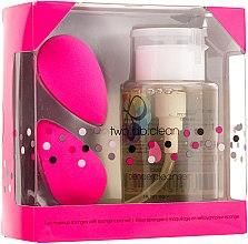 Düfte, Parfümerie und Kosmetik Set Schminkschwämme mit Schwamm-Reinigungsmittel - Beautyblender Original (sponge/2St. + cleaning/150ml)