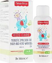 Düfte, Parfümerie und Kosmetik Präbiotische Körper- und Haarreinigungsemulsion für Kinder und Babys - Fisher Price Kids On! Body Emulsion