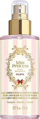 Pupa Miss Princess Body and Hair Scented Water Vanilla - Eau de Parfum — Bild N2