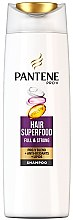 Düfte, Parfümerie und Kosmetik Shampoo mit aktiven Pro-V Nährstoffen für schwaches und dünnes Haar - Pantene Pro-V Superfood Shampoo