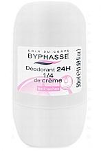 Düfte, Parfümerie und Kosmetik Deo Roll-on Antitranspirant - Byphasse 24h Deodorant 1/4 of Cream
