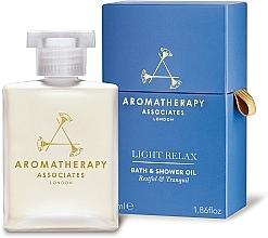Düfte, Parfümerie und Kosmetik Entspannendes Bade- und Duschöl mit Lavendel- und Ylang-Ylang-Öl - Aromatherapy Associates Light Relax Bath & Shower Oil