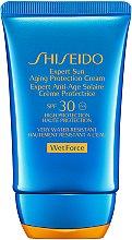 Düfte, Parfümerie und Kosmetik Anti-Aging Sonnenschutzcreme für Gesicht SPF 30 - Shiseido Expert Sun Aging Protection Cream SPF 30