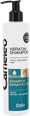 Keratin Shampoo für sanftes und müdes Haar - Delia Cameleo Shampoo — Bild N1