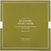 Düfte, Parfümerie und Kosmetik Tuchmaske für das Gesicht mit Beifuß-Extrakt - I'm From Mugwort Sheet Mask