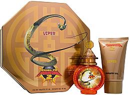 Düfte, Parfümerie und Kosmetik First American Brands Kung Fu Panda 2 Viper - Duftset (Eau de Toilette/100ml + Duschgel/100ml + Schlüsselanhänger)