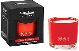 Düfte, Parfümerie und Kosmetik Duftkerze im Glas Mela & Cannella - Millefiori Milano Natural Candle Mela & Cannella