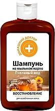 Düfte, Parfümerie und Kosmetik Regenerierendes Shampoo mit Honig für schwaches und strapaziertes Haar - Hausarzt