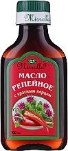 Düfte, Parfümerie und Kosmetik Klettenöl mit rotem Pfeffer für das Haar - Mirrolla
