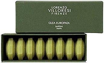Seifen Geschenkset mit extra nativem Olivenöl 8 St. - Lorenzo Villoresi Olea Europaea (8x20g) — Bild N1