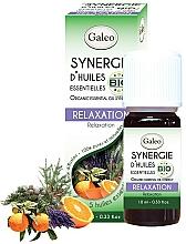 Düfte, Parfümerie und Kosmetik Ätherische Ölmischung mit Orange, Kiefer und Zypresse - Galeo Organic Essential Oil Synergy Relaxation