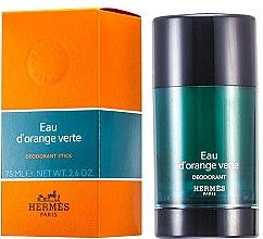 Düfte, Parfümerie und Kosmetik Hermes Concentre dOrange Verte - Parfümierter Deostick