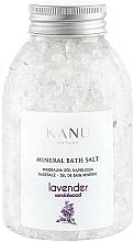 Düfte, Parfümerie und Kosmetik Mineral Badesalz Lavendel - Kanu Nature Lavender Mineral Bath Salt