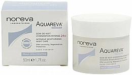 Düfte, Parfümerie und Kosmetik Feuchtigkeitsspendende Nachtcreme für das Gesicht - Noreva Aquareva Intensive Moisturizing Night Care