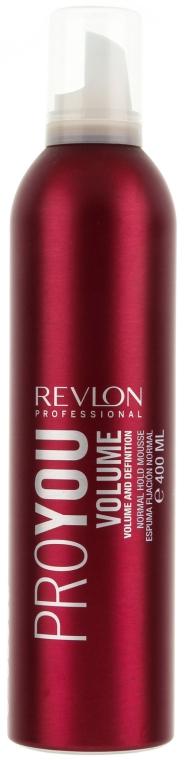 Haarmousse für mehr Volumen Mittlerer Halt - Revlon Professional Pro You Volume Styling Mousse — Bild N1