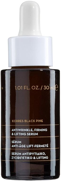 Straffendes Anti-Falten-Serum - Korres Black Pine Antiwrinkle, Firming & Lifting Serum — Bild N1
