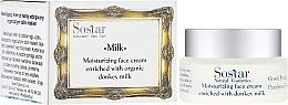 Düfte, Parfümerie und Kosmetik Feuchtigkeitsspendende Gesichtscreme mit Eselsmilch - Sostar Moisturizing Face Cream Enriched With Donkey Milk