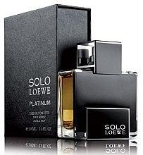 Loewe Solo Loewe Platinum - Eau de Toilette — Bild N1