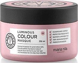 Düfte, Parfümerie und Kosmetik Maske für gefärbtes Haar mit Granatapfel - Maria Nila Luminous Color Masque