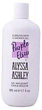 Düfte, Parfümerie und Kosmetik Duschgel - Alyssa Ashley Purple Elixir Bath And Shower Gel