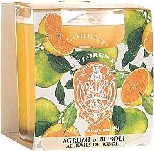 Düfte, Parfümerie und Kosmetik Duftkerze Agrumi di Boboli - La Florentina Scented Candle Agrumi di Boboli Citrus Collection