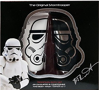 Set - Disney The Original Stormtrooper Star Wars Bath Set (shm&cond/150ml + sh/gel/150ml) — Bild N1