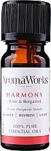 Düfte, Parfümerie und Kosmetik Ätherisches Öl Rose und Bergamotte - AromaWorks Harmony Essential Oil