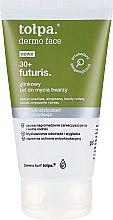 Düfte, Parfümerie und Kosmetik Gesichtswaschgel mit Tonerde - Tolpa Dermo Face Futuris 30+ Cleansing Gel