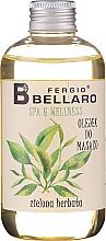 Düfte, Parfümerie und Kosmetik Feuchtigkeitsspendendes Massageöl mit Arganöl und Vitamin E - Fergio Bellaro Massage Oil Green Tea