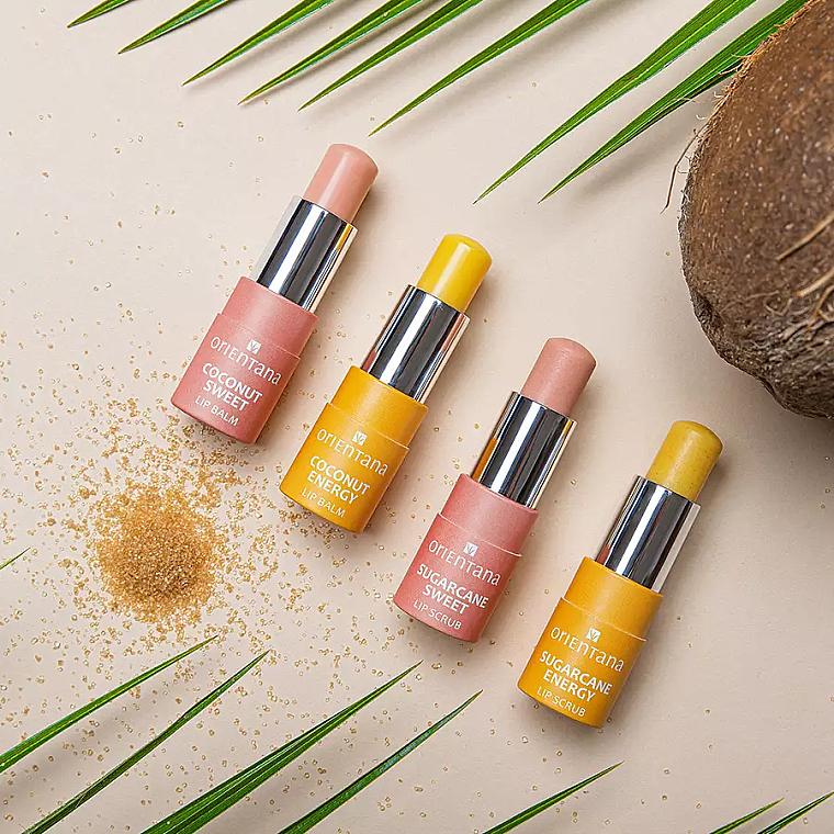 Lippenbalsam Kokosnussenergie - Orientana — Bild N2