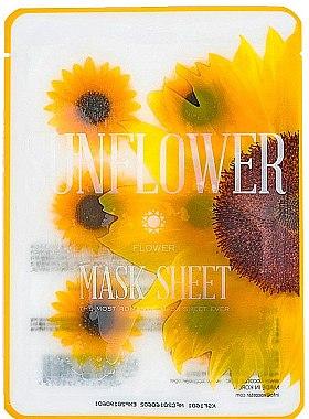 Kühlende Tuchmaske mit Sonnenblumenextrakt - Kocostar Slice Mask Sheet Sunflower — Bild N1