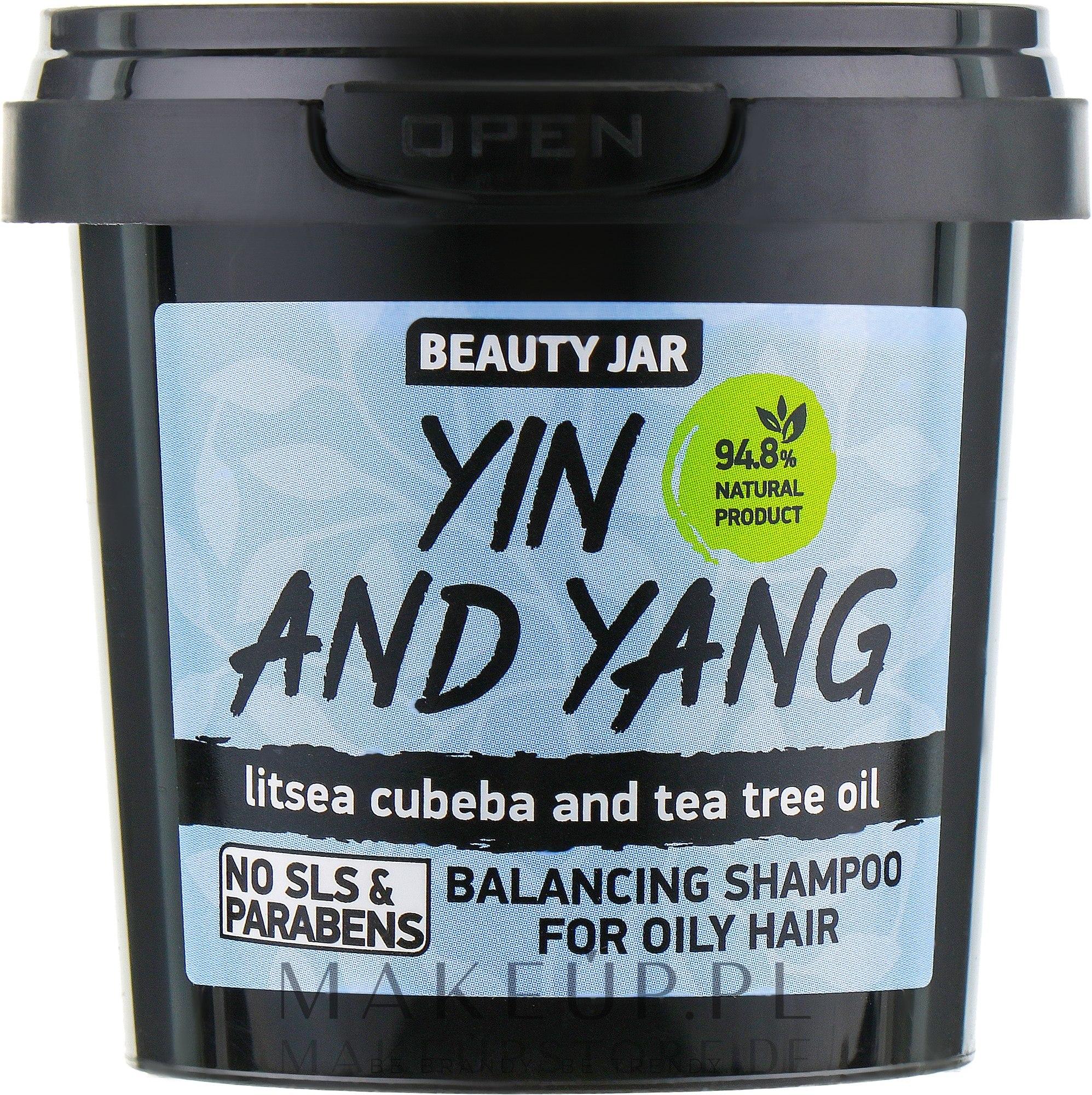 """Shampoo für fettiges Haar """"Yin und Yang"""" - Beauty Jar Shampoo For Oily Hair — Bild 150 g"""