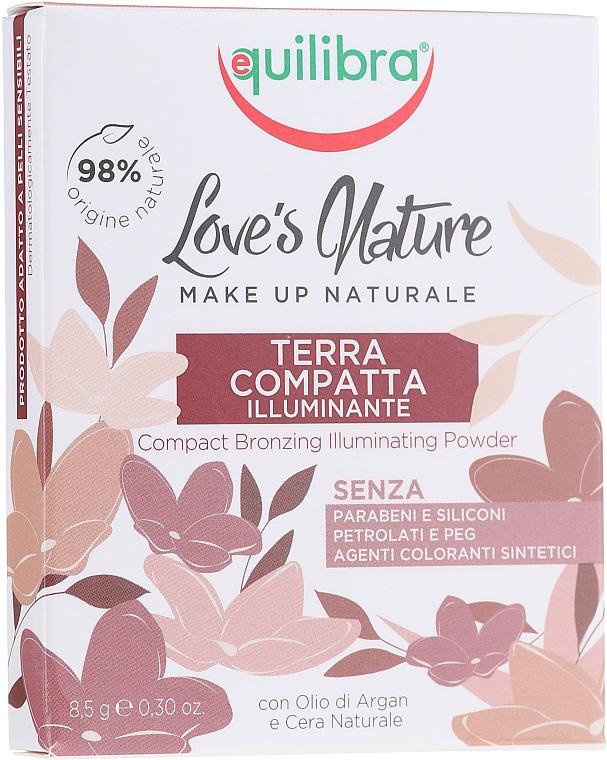 Make-up Set - Equilibra Love's Nature (Gesichtspuder 8.5g + Puderpinsel) — Bild N2