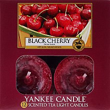 Teelichter Black Cherry - Yankee Candle Black Cherry Tea Light Candles — Bild N1