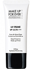Düfte, Parfümerie und Kosmetik Feuchtigkeitsspendender Gesichtsprimer LSF 50 - Make Up For Ever UV Prime SPF 50/PA Daily Protective Make-up Primer