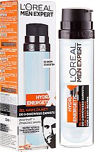 Düfte, Parfümerie und Kosmetik Feuchtigkeitsspendendes Gesichtsgel für 3-Tage-Bart - L'Oreal Paris Men Expert Hydra Energetic X