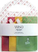 Düfte, Parfümerie und Kosmetik Gesichtspflegeset - Shiseido Waso Reset Cleanser (Gesichtsreinigungsgel 3x70ml)