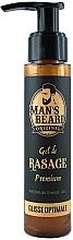 Düfte, Parfümerie und Kosmetik Rasiergel - Man's Beard Gel De Rasage Premium