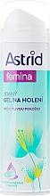 Düfte, Parfümerie und Kosmetik Sanftes Rasiergel für empfindliche Haut mit Meeresmineralien und Vitamin E - Astrid Gentle Shaving Gel