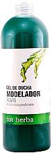 Düfte, Parfümerie und Kosmetik Modellierendes Duschgel mit Algen - Tot Herba Shower Gel