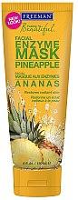 Düfte, Parfümerie und Kosmetik Enzymmaske für das Gesicht mit Ananas - Freeman Feeling Beautiful Pineapple Enzyme Mask