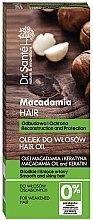 Düfte, Parfümerie und Kosmetik Schützendes Haaröl mit Macadamia und Keratin - Dr. Sante Macadamia Hair
