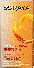 Düfte, Parfümerie und Kosmetik Feuchtigkeitsspendende Augencreme für Tag und Nacht mit Taurin - Soraya Taurine Energy Illuminating Eye Cream Reducing Signs Of Fatigue
