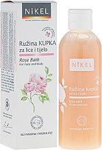 Düfte, Parfümerie und Kosmetik Badeschaum - Nikel Rose Bath